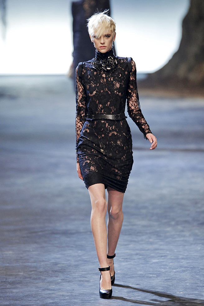 Top 5 fall 2011 fashion trends lace Lanvin