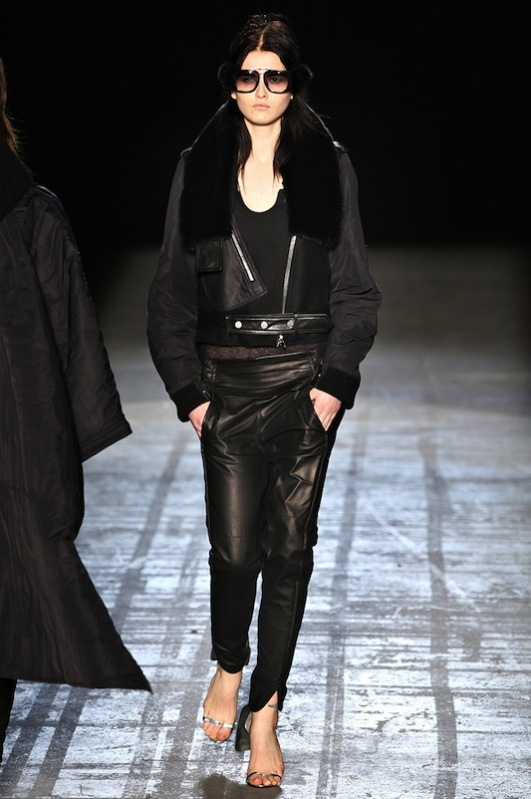 Top 5 fall 2011 fashion trends leather Alexander Wang