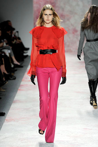 Top 5 fall 2011 fashion trends bold pants Prabal Gurung
